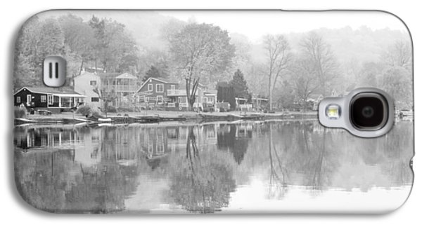 Picturesque Autumn In Bw Galaxy S4 Case by Karol Livote