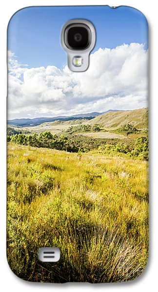 Picturesque Tasmanian Field Landscape Galaxy S4 Case by Jorgo Photography - Wall Art Gallery