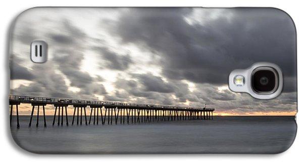 Pier In Misty Waters Galaxy S4 Case