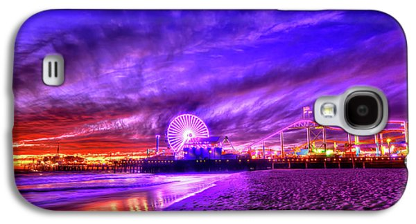 Pier Of Lights Galaxy S4 Case by Midori Chan