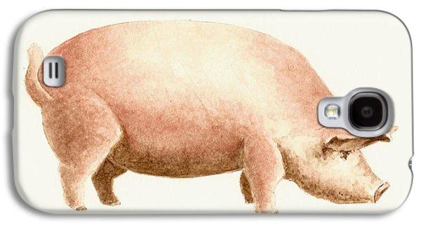 Pig Galaxy S4 Case by Michael Vigliotti