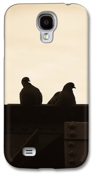 Dove Galaxy S4 Case - Pigeon And Steel by Bob Orsillo