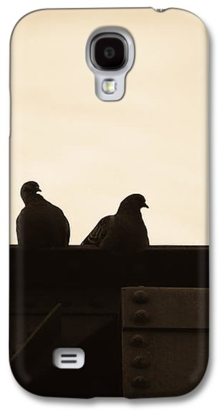 Pigeon And Steel Galaxy S4 Case by Bob Orsillo