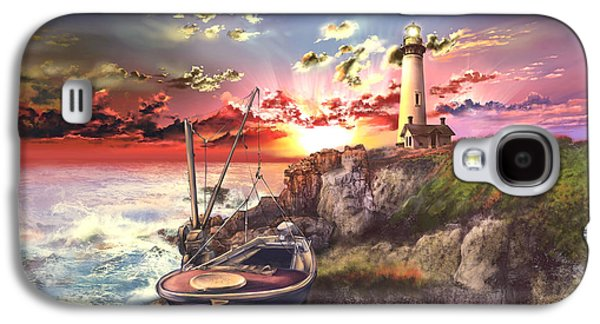 Pigeon Galaxy S4 Case - Pigeon Point Lighthouse by Bekim Art