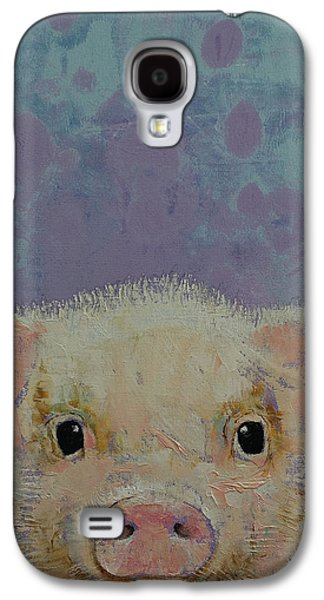 Piglet Galaxy S4 Case by Michael Creese