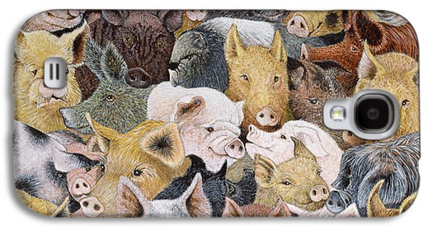 Pigs Galore Galaxy S4 Case