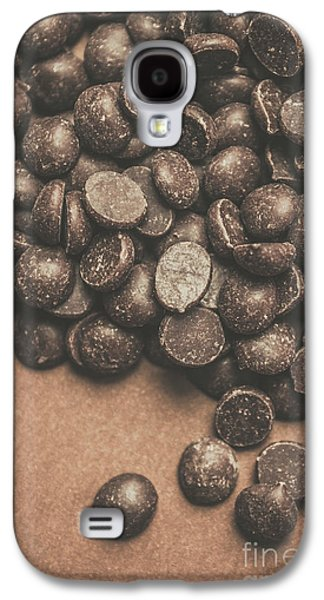 Pile Of Chocolate Chip Chunks Galaxy S4 Case by Jorgo Photography - Wall Art Gallery