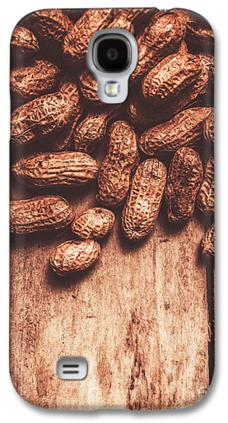 Pile Of Peanuts Covering Top Half Of Board Galaxy S4 Case by Jorgo Photography - Wall Art Gallery