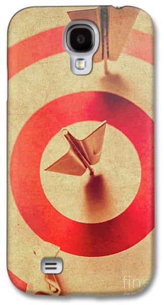 Pin Plane Darts Hitting Goals Galaxy S4 Case by Jorgo Photography - Wall Art Gallery