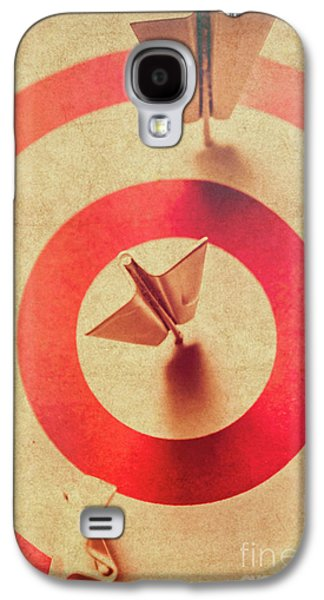 Pin Plane Darts Hitting Goals Galaxy S4 Case