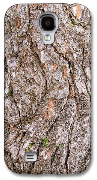 Galaxy S4 Case featuring the photograph Pine Bark Abstract by Christina Rollo