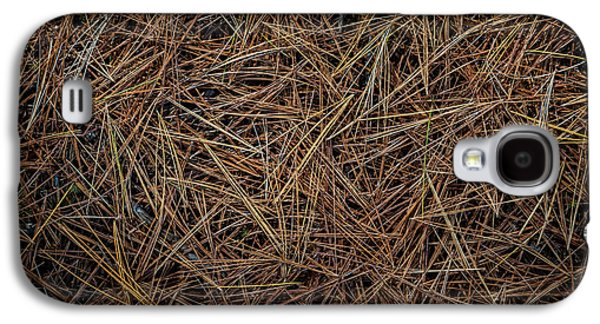 Pine Needles On Forest Floor Galaxy S4 Case by Elena Elisseeva