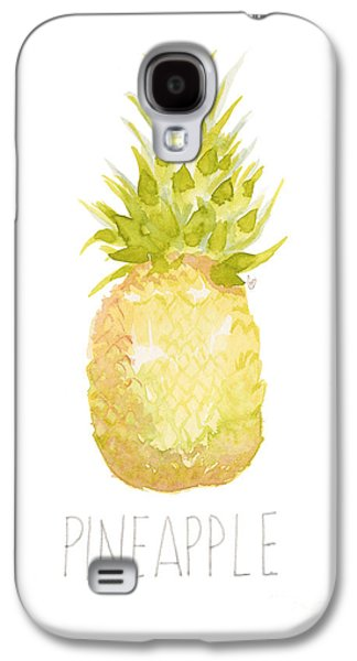 Pineapple Galaxy S4 Case by Cindy Garber Iverson
