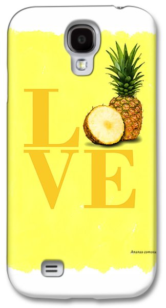 Pineapple Galaxy S4 Case by Mark Rogan