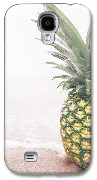 Pineapple On The Beach Galaxy S4 Case by Happy Home Artistry