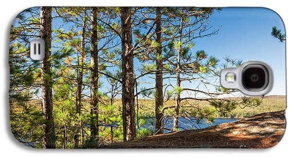 Pines On Sunny Cliff Galaxy S4 Case