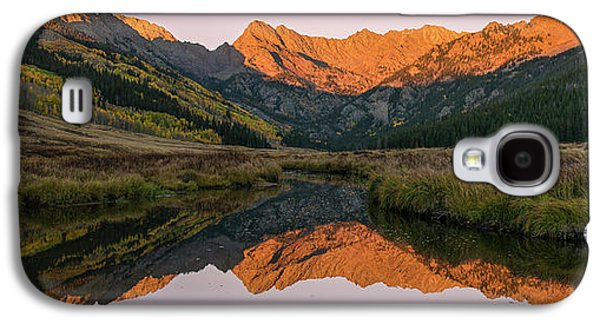 Galaxy S4 Case featuring the photograph Piney River Panorama by Aaron Spong