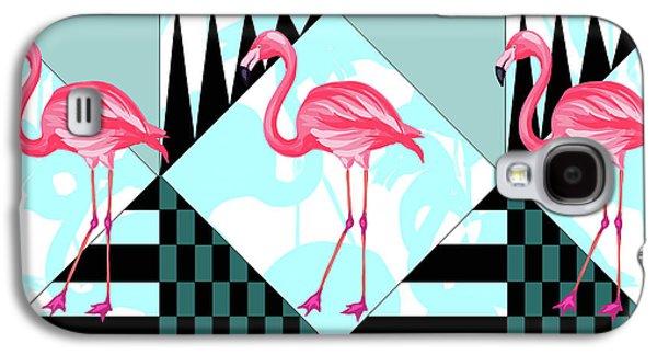 Ping Flamingo Galaxy S4 Case by Mark Ashkenazi