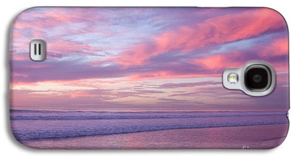 Pink And Lavender Sunset Galaxy S4 Case