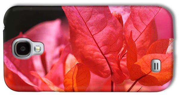 Pink And Orange Bougainvillea - Square Galaxy S4 Case