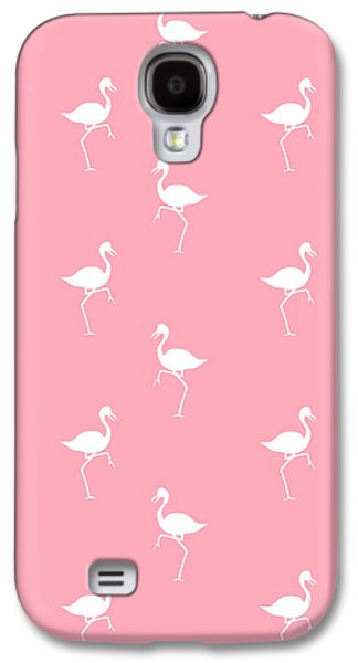 Pink Flamingos Pattern Galaxy S4 Case