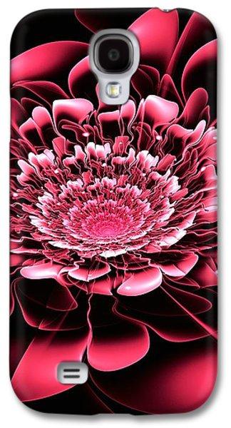 Pink Flower Galaxy S4 Case by Anastasiya Malakhova