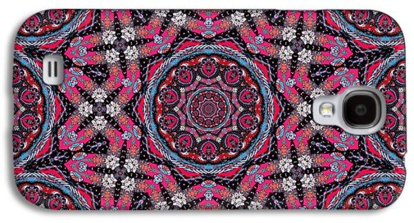 Pink Mandala Galaxy S4 Case