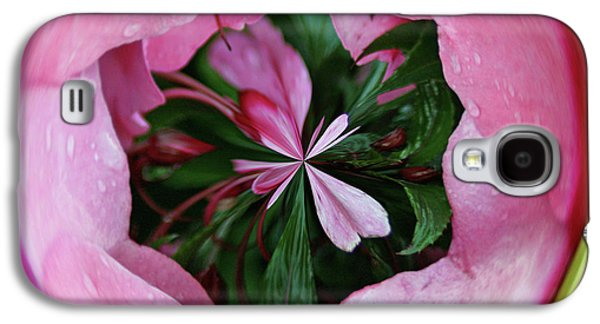 Galaxy S4 Case featuring the photograph Pink Orb by Bill Barber