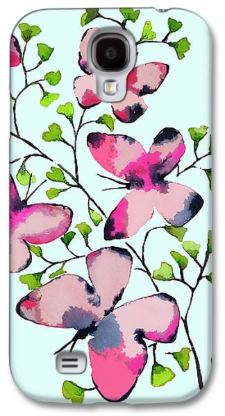 Pink Profusion Butterflies Galaxy S4 Case
