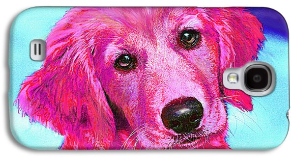 Pink Retriever Galaxy S4 Case