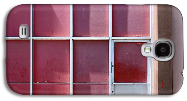 Galaxy S4 Case - Pink Squares by Julie Gebhardt