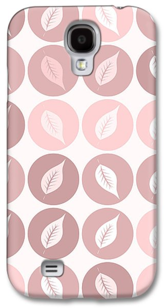 Pinkish Leaves Galaxy S4 Case by Gaspar Avila