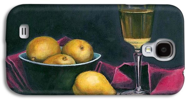 Pinot And Pears Still Life Galaxy S4 Case