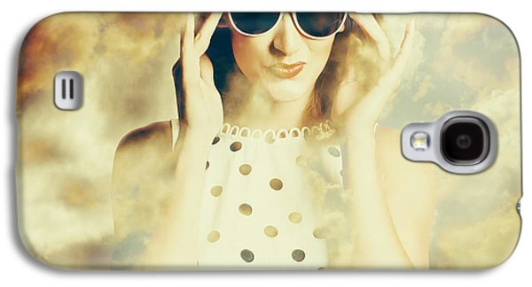 Pinup Fashion Dreams Galaxy S4 Case