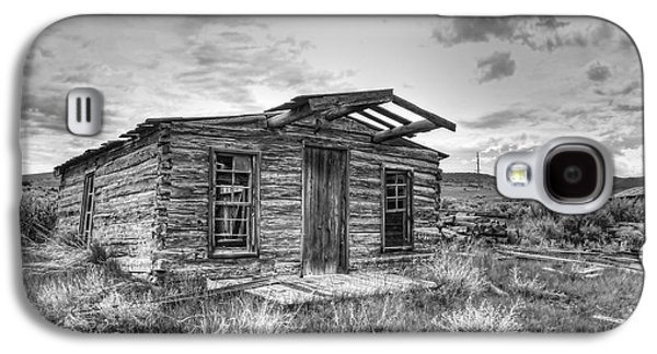 Pioneer Home - Nevada City Ghost Town Galaxy S4 Case by Daniel Hagerman