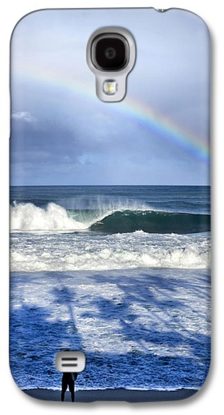Pipe Rainbow Palms Galaxy S4 Case by Sean Davey