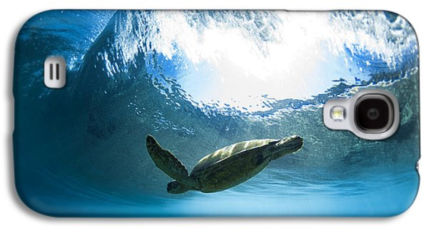 Pipe Turtle Glide Galaxy S4 Case by Sean Davey