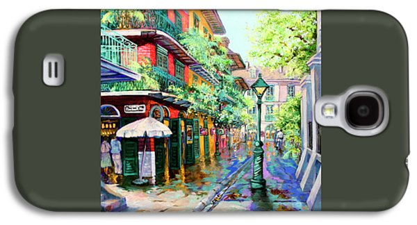 Pirates Alley - French Quarter Alley Galaxy S4 Case by Dianne Parks