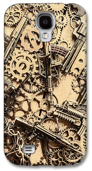 Pistol Parts And Rifle Pinions Galaxy S4 Case by Jorgo Photography - Wall Art Gallery
