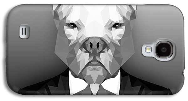 Pitbull 3 Galaxy S4 Case by Gallini Design