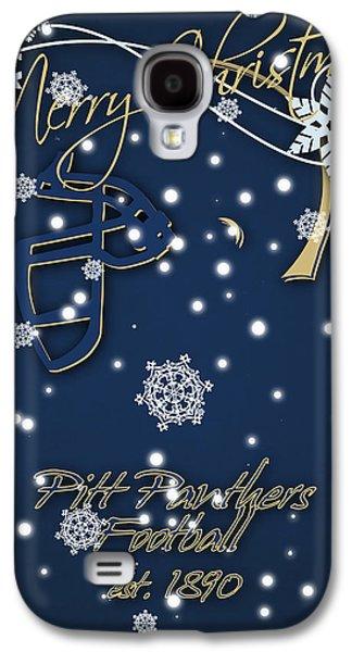 Pitt Panthers Christmas Cards Galaxy S4 Case by Joe Hamilton