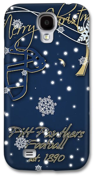 Pitt Panthers Christmas Cards Galaxy S4 Case by Joe Hamilton