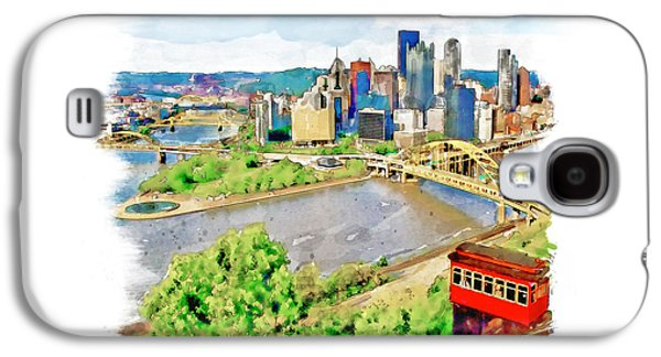 Pittsburgh Aerial View Galaxy S4 Case