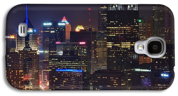 Pittsburgh Close Up From Above Galaxy S4 Case by Frozen in Time Fine Art Photography