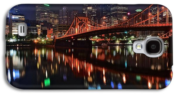 Pittsburgh Lights Galaxy S4 Case