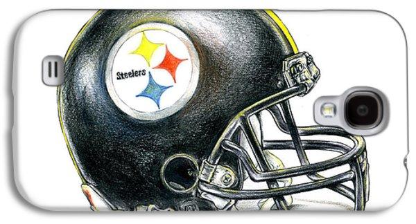 Pittsburgh Steelers Helmet Galaxy S4 Case