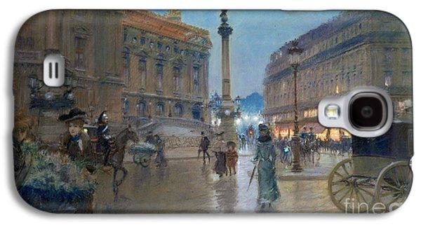 Place De L Opera In Paris Galaxy S4 Case