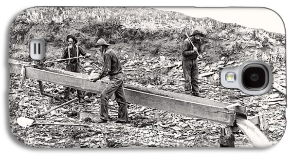 Placer Gold Mining C. 1889 Galaxy S4 Case