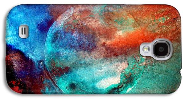 Planet In Galaxy Andromeda Galaxy S4 Case
