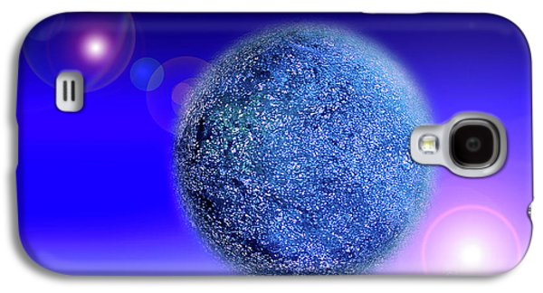 Planet Galaxy S4 Case by Tatsuya Atarashi
